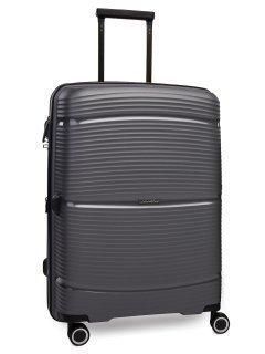 Серый чемодан REDMOND