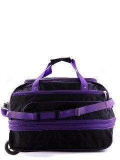 Чёрный чемодан Lbags