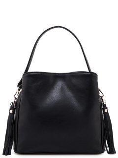 Чёрная сумка планшет S.Lavia