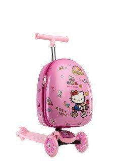 Розовый чемодан Angelo Bianco