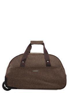 Коричневый чемодан Lbags