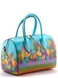 Голубая сумка классическая Cromia в категории Женское/Сумки женские/Женские дорогие сумки. Вид 3