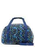 Синяя дорожная сумка Lbags в категории Женское/Сумки дорожные женские/Дорожные сумки для ручной клади. Вид 4