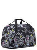 Чёрная дорожная сумка Lbags в категории Женское/Сумки дорожные женские/Дорожные сумки для ручной клади. Вид 2