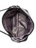 Чёрная сумка мешок S.Lavia. Вид 5 миниатюра.