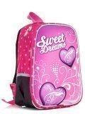 Розовый рюкзак Lbags в категории Детское/Рюкзаки для детей/Рюкзаки для первоклашек. Вид 2