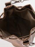 Золотая сумка планшет S.Lavia. Вид 5 миниатюра.