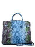 Голубая сумка классическая Angelo Bianco в категории Женское/Сумки женские/Женские деловые сумки. Вид 4