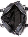 Чёрная сумка классическая S.Lavia. Вид 5 миниатюра.