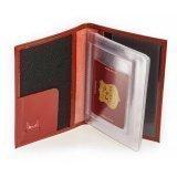 Красная обложка для документов S.Lavia. Вид 2 миниатюра.