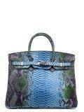 Голубая сумка классическая Angelo Bianco в категории Женское/Сумки женские/Женские деловые сумки. Вид 1