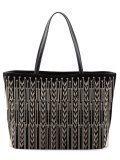 Чёрный шоппер Cromia в категории Женское/Сумки женские/Женские дорогие сумки. Вид 1