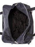 Чёрный чемодан Lbags. Вид 6 миниатюра.