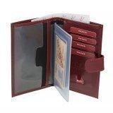 Бордовый бумажник S.Lavia в категории Мужское/Мужские аксессуары/Мужские бумажники. Вид 2