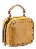 Жёлтая сумка планшет Domenica в категории Женское/Сумки женские/Маленькие сумки. Вид 2