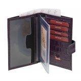 Фиолетовый бумажник S.Lavia в категории Мужское/Мужские аксессуары/Мужские бумажники. Вид 2