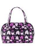 Чёрная дорожная сумка S.Lavia в категории Женское/Сумки дорожные женские/Дорожные сумки для ручной клади. Вид 2
