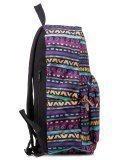 Фиолетовый рюкзак Angelo Bianco в категории Детское/Школьные рюкзаки/Школьные рюкзаки для подростков. Вид 3