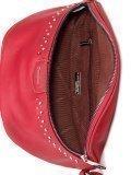 Красная сумка на пояс David Jones. Вид 5 миниатюра.