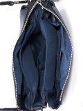 Синяя сумка планшет Domenica. Вид 5 миниатюра.