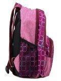 Розовый рюкзак Lbags в категории Детское/Рюкзаки для детей/Рюкзаки для первоклашек. Вид 3
