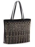 Чёрный шоппер Cromia в категории Женское/Сумки женские/Женские дорогие сумки. Вид 3