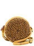 Жёлтая сумка планшет Domenica в категории Женское/Сумки женские/Круглые сумки. Вид 1