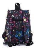 Чёрный рюкзак Lbags в категории Детское/Школьные рюкзаки/Школьные рюкзаки для подростков. Вид 4