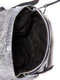 Чёрный рюкзак Domenica. Вид 5 миниатюра.
