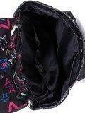 Чёрный рюкзак Lbags. Вид 5 миниатюра.