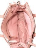 Розовый шоппер Domenica. Вид 5 миниатюра.