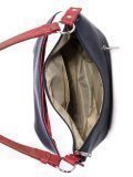 Синяя сумка мешок S.Lavia. Вид 5 миниатюра.