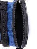 Синяя сумка планшет S.Lavia. Вид 5 миниатюра.