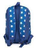 Синий рюкзак Lbags в категории Детское/Школьные рюкзаки/Школьные рюкзаки для подростков. Вид 4