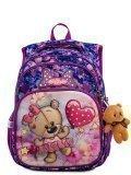 Фиолетовый рюкзак SkyName в категории Детское/Рюкзаки для детей/Рюкзаки для первоклашек. Вид 1