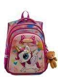 Розовый рюкзак SkyName в категории Детское/Рюкзаки для детей/Рюкзаки для первоклашек. Вид 1