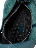 Бирюзовая сумка мешок S.Lavia. Вид 6 миниатюра.