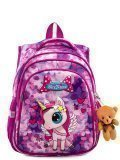 Сиреневый рюкзак SkyName в категории Детское/Рюкзаки для детей/Рюкзаки для первоклашек. Вид 1