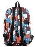 Коричневый рюкзак Angelo Bianco в категории Детское/Школьные рюкзаки/Школьные рюкзаки для подростков. Вид 4