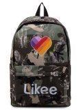 Зелёный рюкзак Angelo Bianco в категории Детское/Школьные рюкзаки/Школьные рюкзаки для подростков. Вид 1
