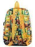 Жёлтый рюкзак Angelo Bianco в категории Детское/Школьные рюкзаки/Школьные рюкзаки для подростков. Вид 4