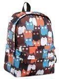 Коричневый рюкзак Angelo Bianco в категории Детское/Школьные рюкзаки/Школьные рюкзаки для подростков. Вид 2