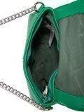 Зелёная сумка планшет David Jones. Вид 5 миниатюра.