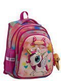 Розовый рюкзак SkyName в категории Детское/Рюкзаки для детей/Рюкзаки для первоклашек. Вид 2