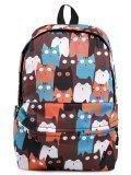 Коричневый рюкзак Angelo Bianco в категории Детское/Школьные рюкзаки/Школьные рюкзаки для подростков. Вид 1