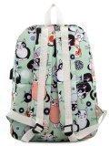 Мятный рюкзак Angelo Bianco в категории Детское/Школьные рюкзаки/Школьные рюкзаки для подростков. Вид 4