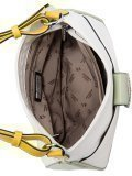 Белая сумка мешок Fabbiano. Вид 5 миниатюра.
