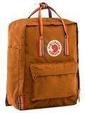 Рыжий рюкзак Kanken в категории Детское/Школьные рюкзаки/Школьные рюкзаки для подростков. Вид 2