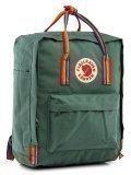 Зелёный рюкзак Kanken в категории Детское/Школьные рюкзаки/Школьные рюкзаки для подростков. Вид 2