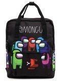 Чёрный рюкзак Angelo Bianco в категории Детское/Школьные рюкзаки/Школьные рюкзаки для подростков. Вид 1